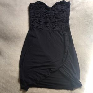 Free People Strapless Black Dress